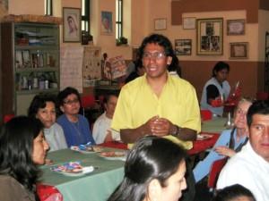 Gezamelijke maaltijd van de vrijwilligers